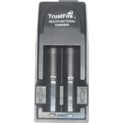 Универсальное з/у для всех типов Li-Ion аккумуляторов TrustFire TR-001 + Автоадаптер