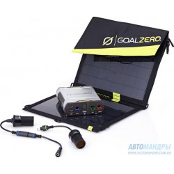 Зарядное устройство Goal Zero Sherpa 50 Solar Recharging Kit