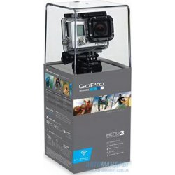 Комплект камеры GoPro HD HERO3: Silver Edition