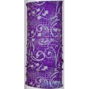 Многофункциональный головной убор летний Joy Baff Violet Design