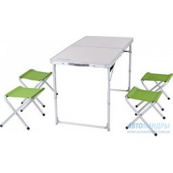 "Раскладной стол ""Кемпинг"" XN-12064 + 4 стула"
