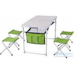 "Раскладной стол ""Кемпинг"" TA-484 + 4 стула"