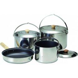 Набор посуды Kovea Deluxe Cookware XL KK8CW0301 из нержавеющей стали на 6-7 персон