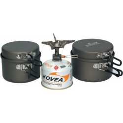 Набор посуды Kovea KSK-SOLO3 из анодированного алюминия на 1-2 персоны