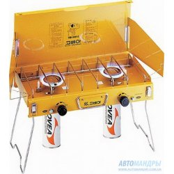 Газовая плита Kovea Deluxe Twin Gas TKB-9401-B