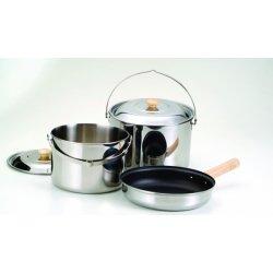 Набор посуды Kovea Stainless L Cookware VKC-ST08-45 из нержавеющей стали на 4-5 персон