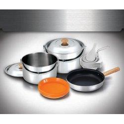 Набор посуды Kovea Stainless XL Cookware VKC-ST08-67 из нержавеющей стали на 6-7 персон