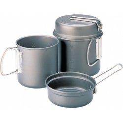 Набор посуды Kovea Escape VKK-ES01 из анодированного алюминия на 1-2 персоны