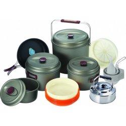 Набор посуды Kovea Hard 10 KSK-WH10 из анодированного алюминия на 10 персон