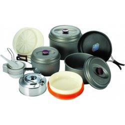 Набор посуды Kovea Hard 78 KSK-WH78 из анодированного алюминия на 7-8 персон