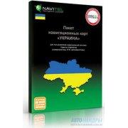 """Навигационная карта """"Украина"""" для """"Навител Навигатор"""". Коробочная версия."""
