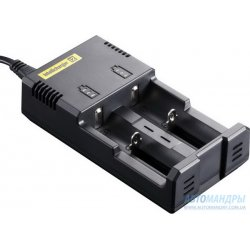 Зарядное устройство Nitecore Intellicharger i2 v.2 для Li-Ion, Ni-MH, Ni-CD аккумуляторов (2 канала)