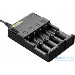 Зарядное устройство Nitecore Intellicharger i4 v.2 для Li-Ion, Ni-MH, Ni-CD аккумуляторов (4 канала)