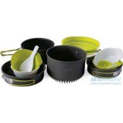 Набор посуды Pinguin Quadri X из анодированного алюминия на 3-5 персон
