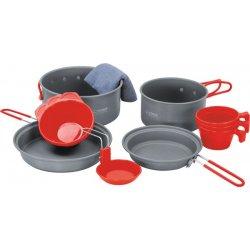 Набор посуды Terra Incognita Tri из анодированного алюминия на 2-3 персоны