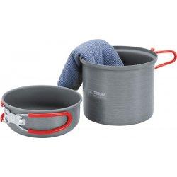 Набор посуды Terra Incognita Uno Small из анодированного алюминия на 1 человека