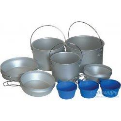 Набор посуды Tramp TRC-002 из алюминия