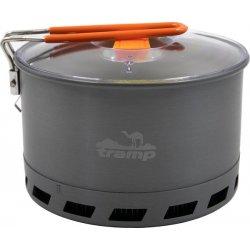 Котелок Tramp TRC-119 из анодированного алюминия с теплообменником 2,2 л