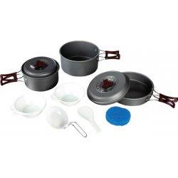 Набор посуды Tramp TRC-024 из анодированного алюминия на 2-3 персоны