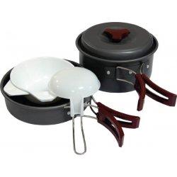 Набор посуды Tramp TRC-025 из анодированного алюминия на 1-2 персоны