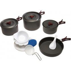Набор посуды Tramp TRC-026 из анодированного алюминия на 4-5 персон