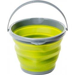 Складное ведро силиконовое Tramp TRC-091 10 л оливковое