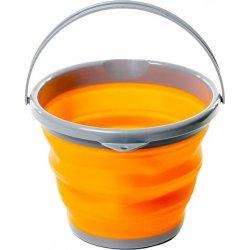 Складное ведро силиконовое Tramp TRC-092 5 л оранжевое