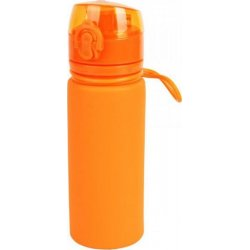Бутылка силиконовая Tramp TRC-093 500 мл оранжевая