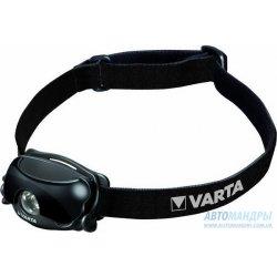 Налобный фонарь Varta 1w Sports Head Light 2AAA