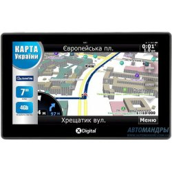 Автонавигатор X-Digital A718